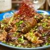 【レシピ】トロトロ茄子とひき肉のピリ辛味噌炒め