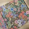 外国のデザインを和の配色で塗ってみたコロリアージュ『ひみつの花園』
