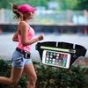 走りながらスマホで音楽を聴きたい人は「ランニングポーチ(ウエストバッグ)」を使おう【ジョギング】