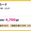 【ハピタス】Yahoo! JAPANカードが4,700ptにアップ!さらに最大8,000円相当のTポイントプレゼントも!