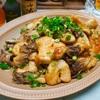 【レシピ】鶏むね肉と舞茸のマヨポン炒め