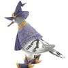 占星術師風のハトのイラスト(+鳥の話)