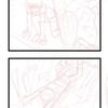 (4コマ漫画その2)アイディアを絵にしていきますよ