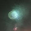 空に消えていった打ち上げ花火