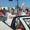 カープ優勝パレード!黒田新井の2人とジャクソンを動画で見てあげて