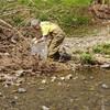 空堀川の清掃活動