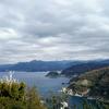伊豆西海岸・雲見浅間神社から見た絶景