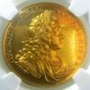 イギリス1714年ジョージ1世戴冠メダルMS63
