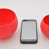 携帯性抜群のシリコン製食器:Squishy Bowl & Cup Set