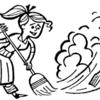 【火】教室の掃除をはじめる前に色がついた砂のようなものを撒けばよいのではないか