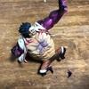 ルフィのフィギュアの足が折れたのでまたもアロンアルファ登場