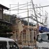 建築日記その3 待望の建前工事(棟上げ当日)
