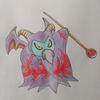 ラプソーン(ポケモン風) Rhapthorne , Pokémon style.