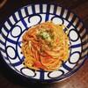 シンプルなフレッシュトマトソーススパゲッティ