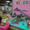 3歳と、世界最大のおりがみミュージアム「日本折紙博物館」(加賀市・石川県
