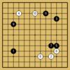 囲碁ウォーズ対戦記7 棋神とハンデなし対局