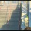 今更だが、「君の名は。」の聖地巡礼の旅に出る。その196.  Real life locations in Kimi no Na wa or Your Name. Scene 196.  須賀神社の階段の中段部分 The middle part of the stairs  Suga shrine.