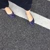 プチプラ靴! e-zakkamania storesのメッシュラバーパンプス
