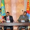 エチオピアとエリトニアの戦争終結宣言