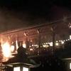 3月14日、東大寺二月堂のお水取り 「十一面悔過(じゅういちめんけか)」