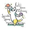 本日のイラスト cats dance