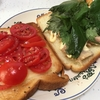 2021/5/25 朝食のトースト2種