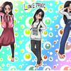 【キッズと一緒に原宿を楽しむ】レインボーわたあめ!!子ども服ファッション!!