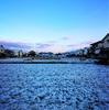 松山でも積雪