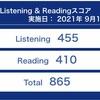 【TOEIC#016】第276回 L&R公開テスト(9月12日 午前)の結果が出ました 〜 前回比30点減でリーディング先読み戦略は見直しか