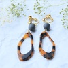 kawara pierce & earring *autumn*