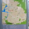 矢野駅前の案内図