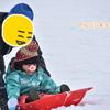 蒜山高原で雪遊び_2歳9ヶ月
