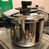 玄米炊飯 古い圧力鍋の再生計画