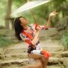 上海桂林公園でのチャイナドレス撮影会「墨舞」