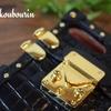 クラシックなカバン風デザインのスマホケース 鹿児島県K様