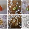 宝石質のシトリン、ペリドット、オレンジムーンストーンを使ったアクセサリーの販売開始*