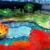 ホテルニューオータニ日本庭園の池(東京都千代田)