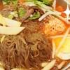 おむすび入りジャキジャキ韓国冷麺❤🍴(・Θ・)