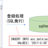 ⑦ GUIの実装 sqlite3への登録【python tkinter sqlite3で家計簿を作る】