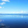 泳がなくても海は楽しい。桜島が見える重富海岸@鹿児島県姶良市