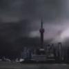 #花火(台風6号の中国名「烟花」)が大暴れ #上海#停電#高速鉄道#運行停止