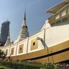 船形の仏塔がある『ワット・ヤンナワー』で初のタイ式おみくじ体験@BTSサパーンタクシーン