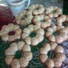 ごまたっぷり焼きドーナツを作ってみました(アーモンドプードルのかわりに家にあったごまを使用)