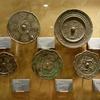 西安大唐西市博物館(その15:2階常設展⑩銅から鏡を製造)