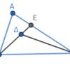 第1巻命題21 三角形の内部の三角形