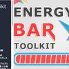 Energy Bar Toolkit プログレスバーやヘルスバーにカッコイイ演出が付けられる簡単実装スクリプト
