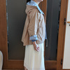 スカートの上に着るスプリングコートの丈はどうする?ほっこり感が出ないレングスをセレクト