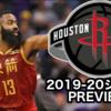 【2019-20チームレビュー】ヒューストン・ロケッツ