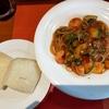 イタリア料理 カーサパスト 海老・ズッキーニ・オクラのトマトパスタ