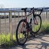 【ロードバイク】外練: 荒サイ河口方面 66km、夏場の水分補給について
